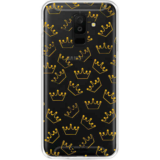 Casetastic Softcover Samsung Galaxy A6 Plus (2018) - The Crown
