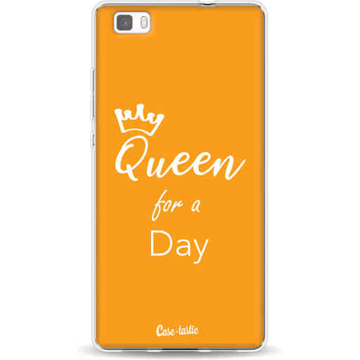 Casetastic Softcover Huawei P8 Lite (2015) - Queen for a Day