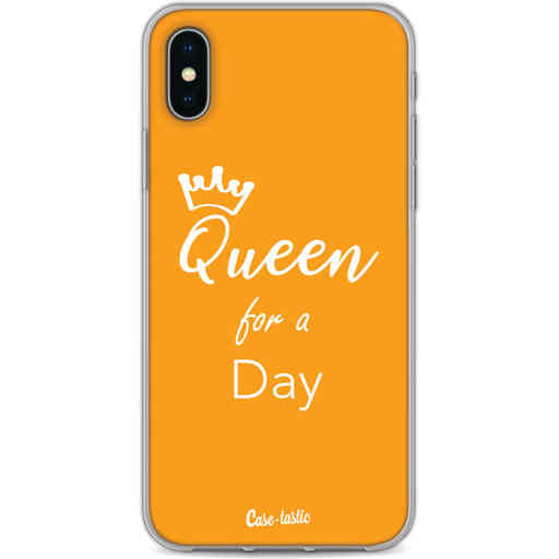 Casetastic Softcover Apple iPhone X / XS - Queen for a Day
