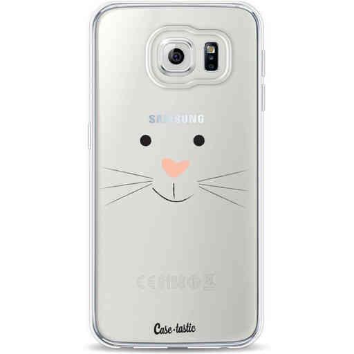 Casetastic Softcover Samsung Galaxy S6 - Bunny Face