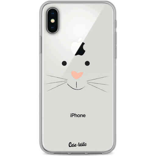 Casetastic Softcover Apple iPhone X / XS - Bunny Face