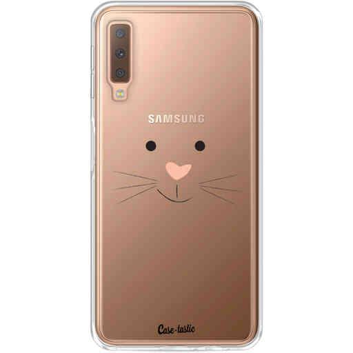 Casetastic Softcover Samsung Galaxy A7 (2018) - Bunny Face