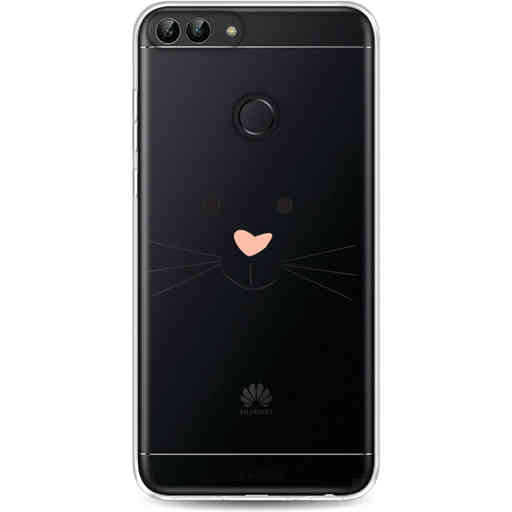 Casetastic Softcover Huawei P Smart - Bunny Face