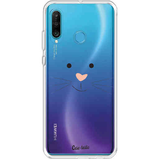 Casetastic Softcover Huawei P30 Lite - Bunny Face
