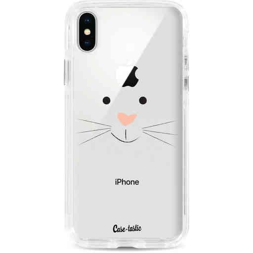 Casetastic Dual Snap Case Apple iPhone X / XS - Bunny Face