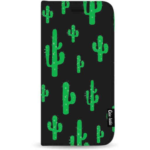 Casetastic Wallet Case Black Samsung Galaxy A50 (2019) - American Cactus Green