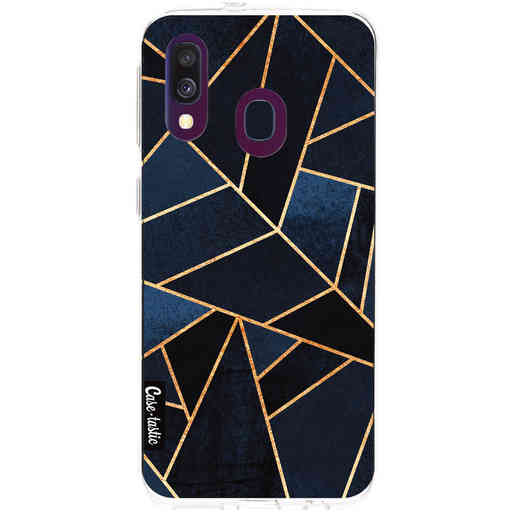 Casetastic Softcover Samsung Galaxy A40 (2019) - Navy Stone