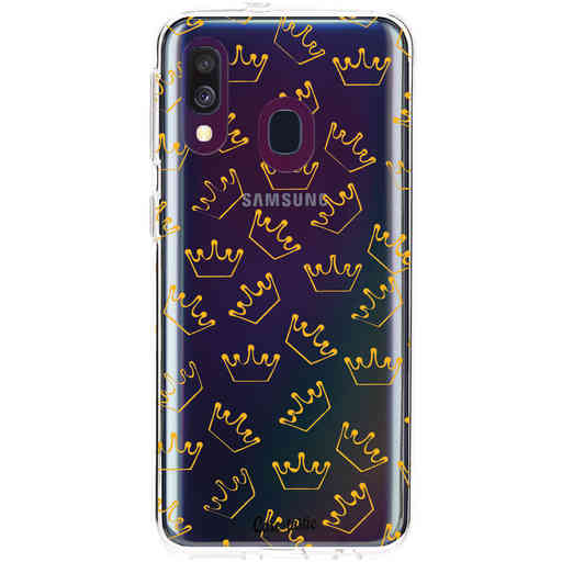 Casetastic Softcover Samsung Galaxy A40 (2019) - The Crown