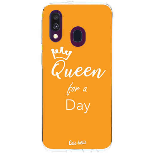 Casetastic Softcover Samsung Galaxy A40 (2019) - Queen for a Day