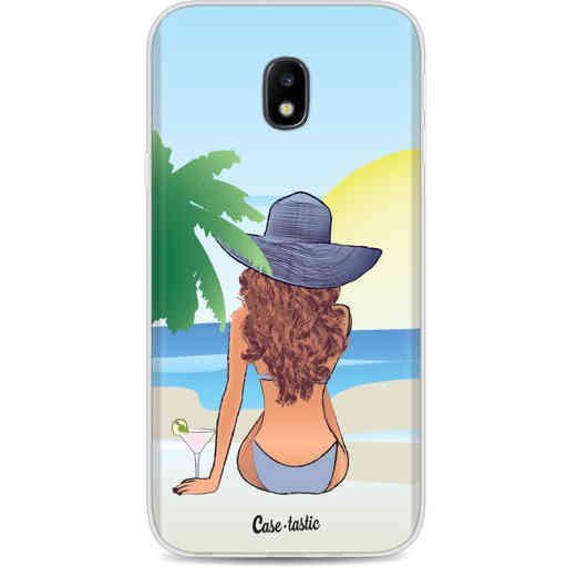 Casetastic Softcover Samsung Galaxy J3 (2017)  - BFF Sunset Brunette