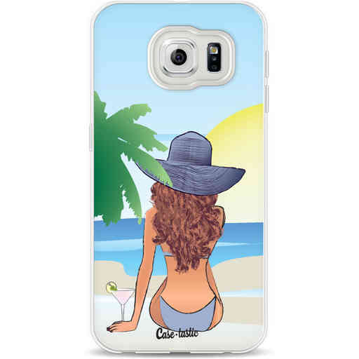 Casetastic Softcover Samsung Galaxy S6 - BFF Sunset Brunette