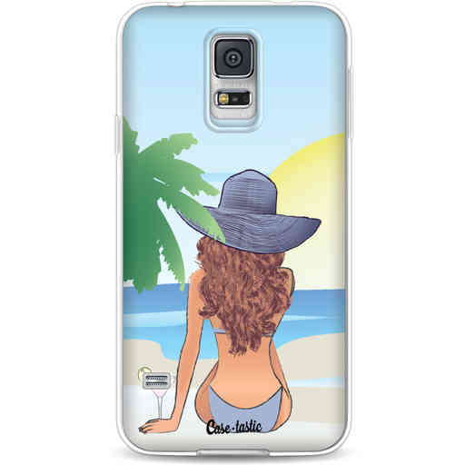 Casetastic Softcover Samsung Galaxy S5  - BFF Sunset Brunette