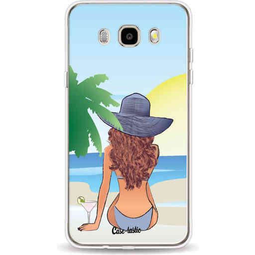 Casetastic Softcover Samsung Galaxy J5 (2016) - BFF Sunset Brunette