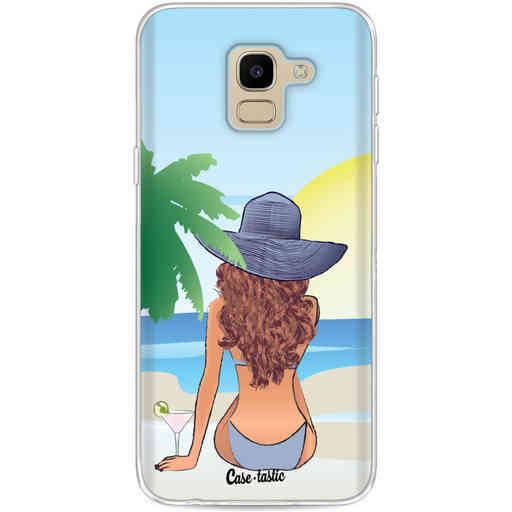 Casetastic Softcover Samsung Galaxy J6 (2018) - BFF Sunset Brunette