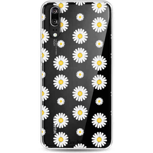 Casetastic Softcover Huawei P20 - Daisies