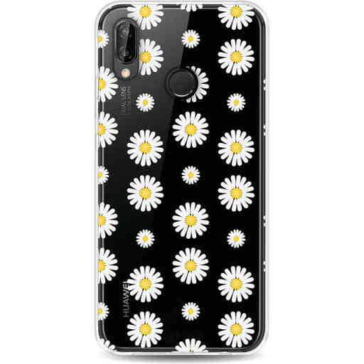 Casetastic Softcover Huawei P20 Lite (2018) - Daisies