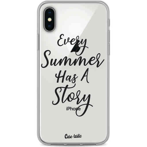 Casetastic Softcover Apple iPhone X / XS - Summer Story