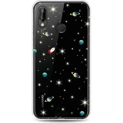 Casetastic Softcover Huawei P20 Lite (2018) - Cosmos Life