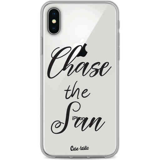 Casetastic Softcover Apple iPhone X / XS - Chase The Sun