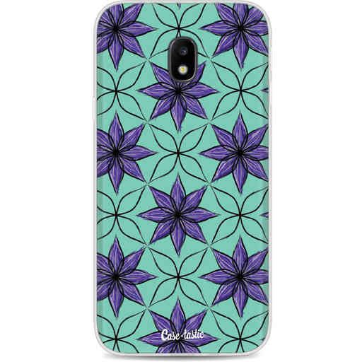Casetastic Softcover Samsung Galaxy J3 (2017)  - Statement Flowers Purple