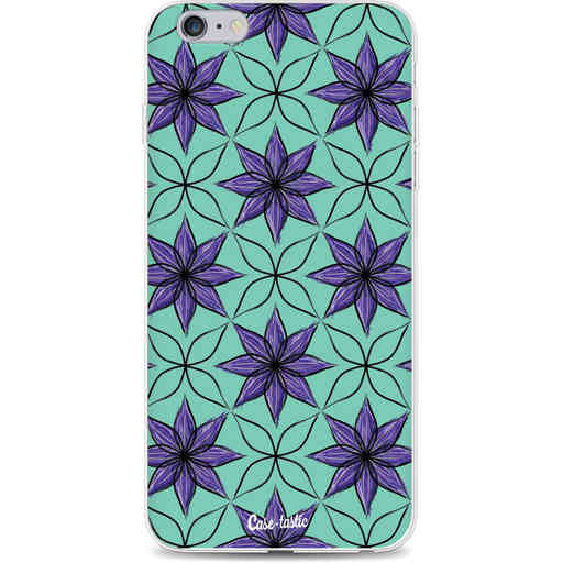 Casetastic Softcover Apple iPhone 6 Plus / 6s Plus - Statement Flowers Purple