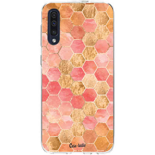 Casetastic Softcover Samsung Galaxy A50 (2019) - Honeycomb Art Coral