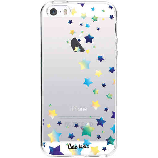 Casetastic Softcover Apple iPhone 5 / 5s / SE - Funky Stars