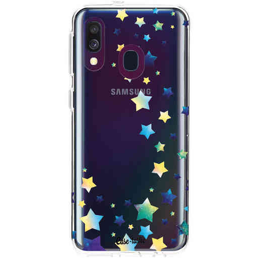 Casetastic Softcover Samsung Galaxy A40 (2019) - Funky Stars