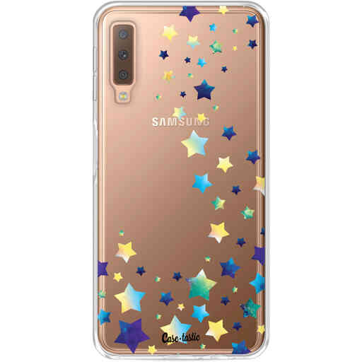 Casetastic Softcover Samsung Galaxy A7 (2018) - Funky Stars