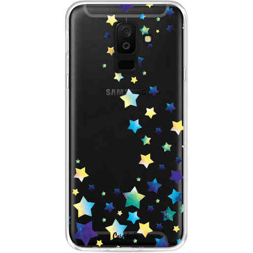 Casetastic Softcover Samsung Galaxy A6 Plus (2018) - Funky Stars
