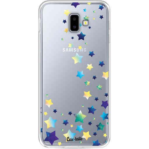 Casetastic Softcover Samsung Galaxy J6 Plus (2018) - Funky Stars