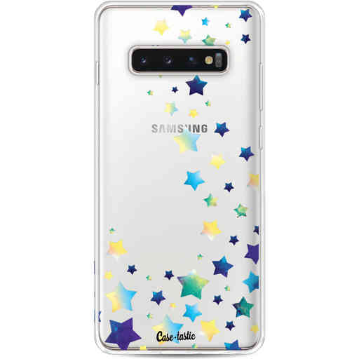 Casetastic Softcover Samsung Galaxy S10 Plus - Funky Stars
