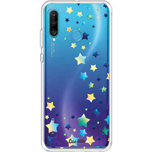 Casetastic Softcover Huawei P30 Lite - Funky Stars