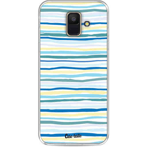 Casetastic Softcover Samsung Galaxy A6 (2018) - Stripe Vibe