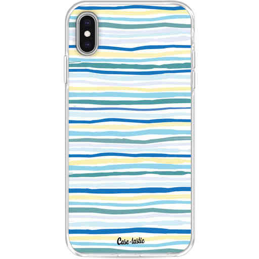Casetastic Softcover Apple iPhone XS Max - Stripe Vibe