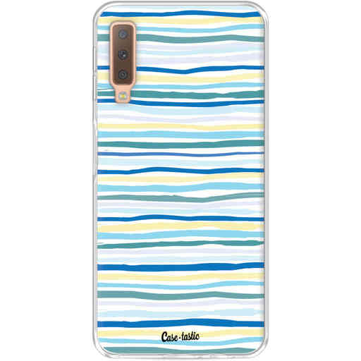 Casetastic Softcover Samsung Galaxy A7 (2018) - Stripe Vibe