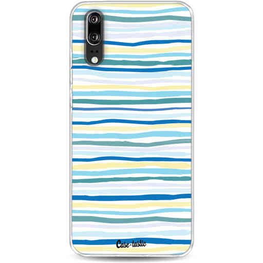 Casetastic Softcover Huawei P20 - Stripe Vibe