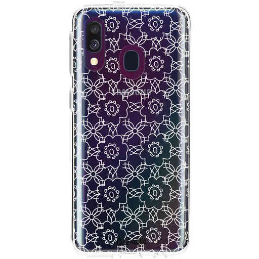 Casetastic Softcover Samsung Galaxy A40 (2019) - Flowerbomb