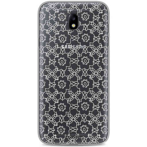 Casetastic Softcover Samsung Galaxy J7 (2017) - Flowerbomb