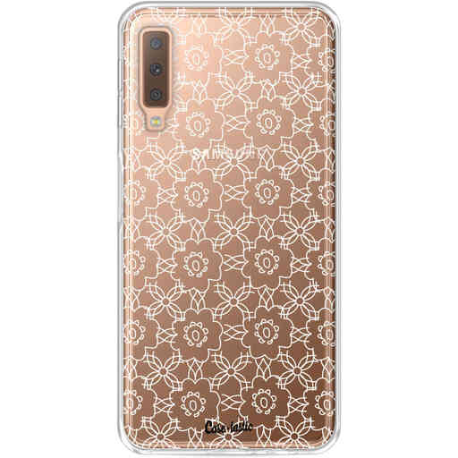 Casetastic Softcover Samsung Galaxy A7 (2018) - Flowerbomb