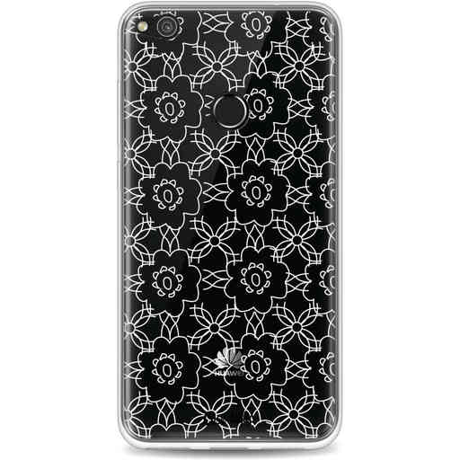 Casetastic Softcover Huawei P8 Lite (2017) - Flowerbomb