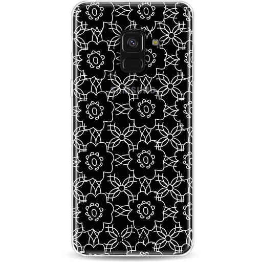 Casetastic Softcover Samsung Galaxy A8 (2018) - Flowerbomb
