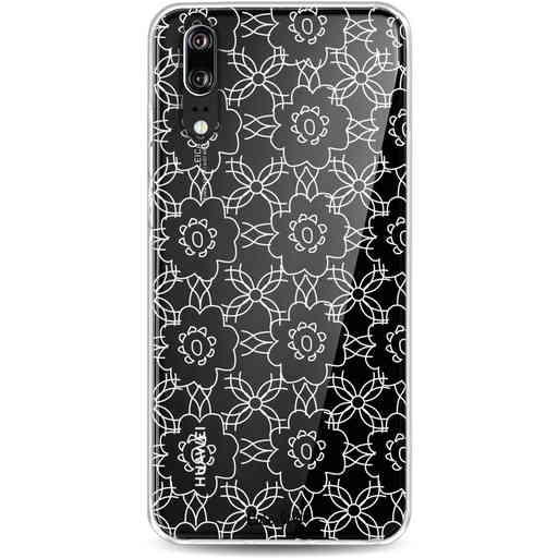 Casetastic Softcover Huawei P20 - Flowerbomb