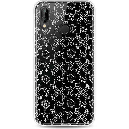 Casetastic Softcover Huawei P20 Lite (2018) - Flowerbomb