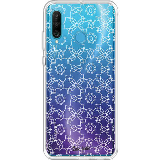 Casetastic Softcover Huawei P30 Lite - Flowerbomb