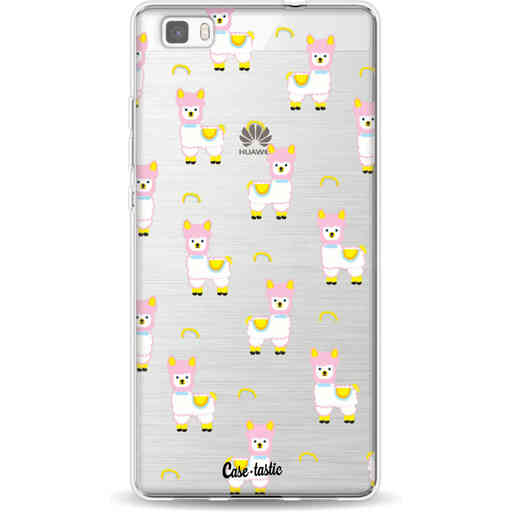 Casetastic Softcover Huawei P8 Lite - Rainbow Llama