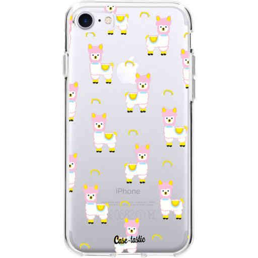Casetastic Softcover Apple iPhone 7 / 8 - Rainbow Llama