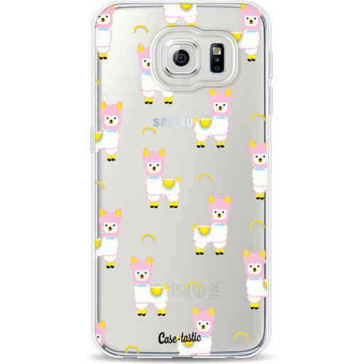 Casetastic Softcover Samsung Galaxy S6 - Rainbow Llama