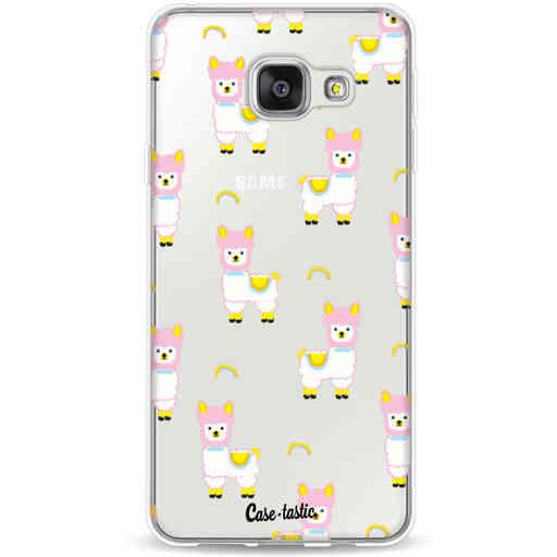 Casetastic Softcover Samsung Galaxy A3 (2016) - Rainbow Llama