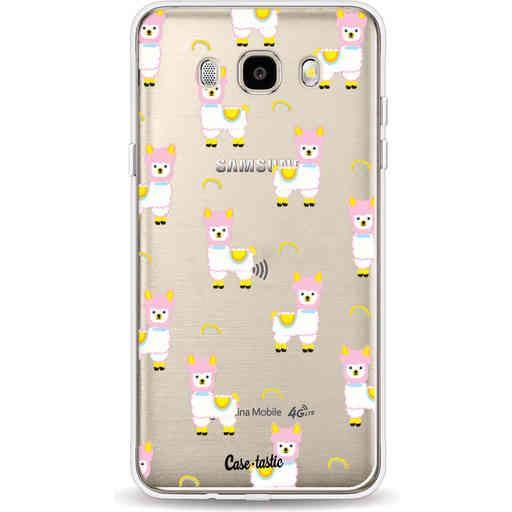 Casetastic Softcover Samsung Galaxy J5 (2016) - Rainbow Llama